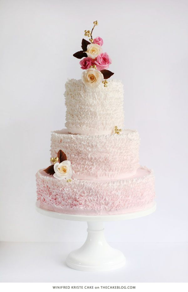 10 Love Inspired Cakes   including this design by Winifred Kristé Cake   on TheCakeBlog.com
