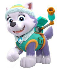 Personaje Everest - Patrulla canina