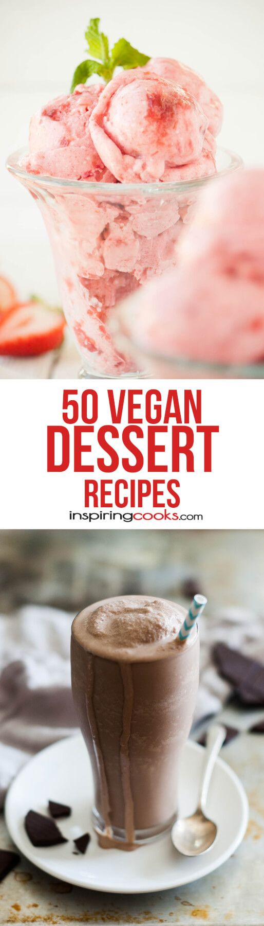 I love this huge selection of Vegan dessert recipes. I definitely want to try a bunch of these soon!