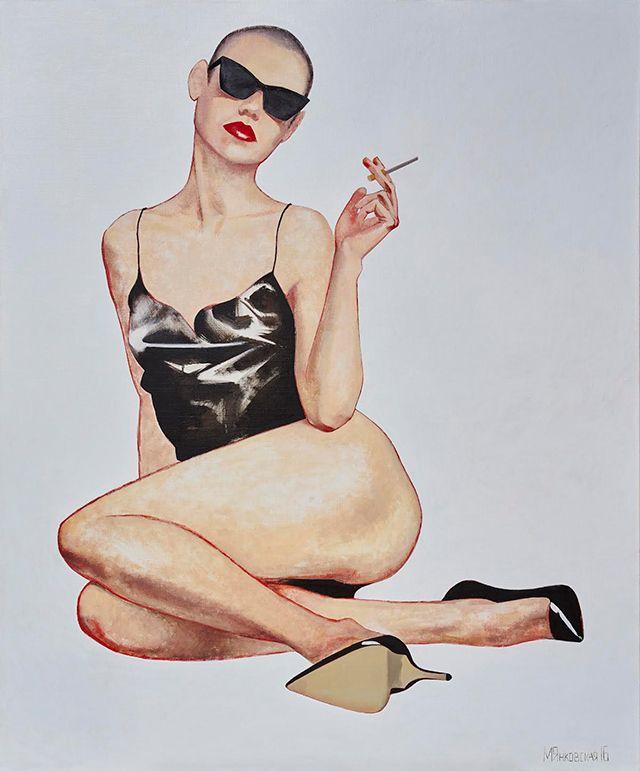 Прохладный эротизм: персональная выставка Маши Янковской (фото 1)