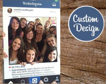 Instagram cadre Photo Booth Props, photomaton Prop ...