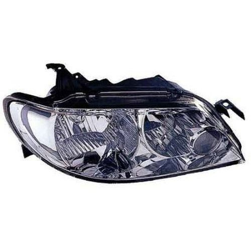 2003 Mazda Protege 5 Right Passenger Side Head Light Lens And Housing Hatchback With Aluminum Bezel Ma2519106