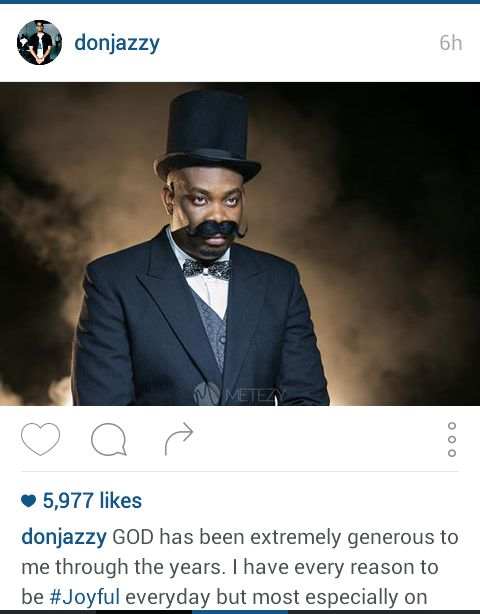 Happy 33rd Birthday to MAVIN Boss Don Jazzy