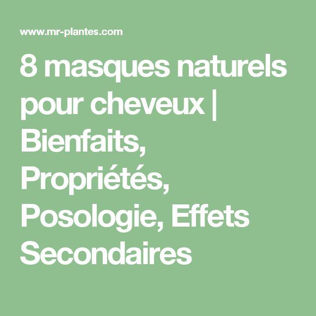 8 masques naturels pour cheveux | Bienfaits, Propriétés, Posologie, Effets Secondaires