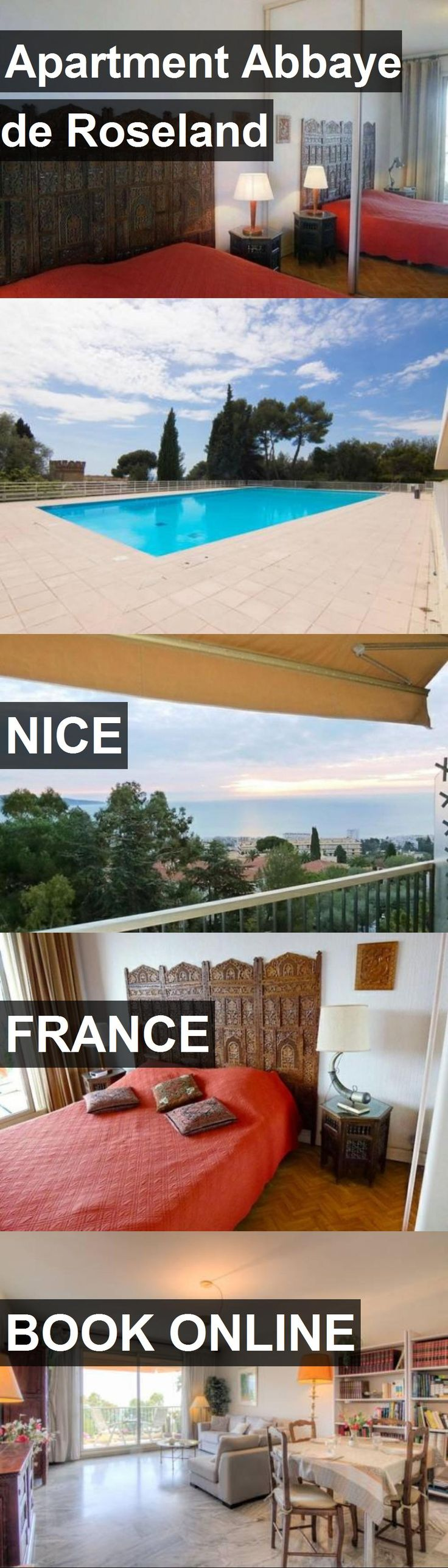 Hotel Apartment Abbaye de Roseland in Nice, France. For more information, photos, reviews and best prices please follow the link. #France #Nice #ApartmentAbbayedeRoseland #hotel #travel #vacation