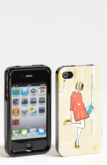 kate spade new york 'garance doré - girl' iPhone 4 & 4S case available at #Nordstrom