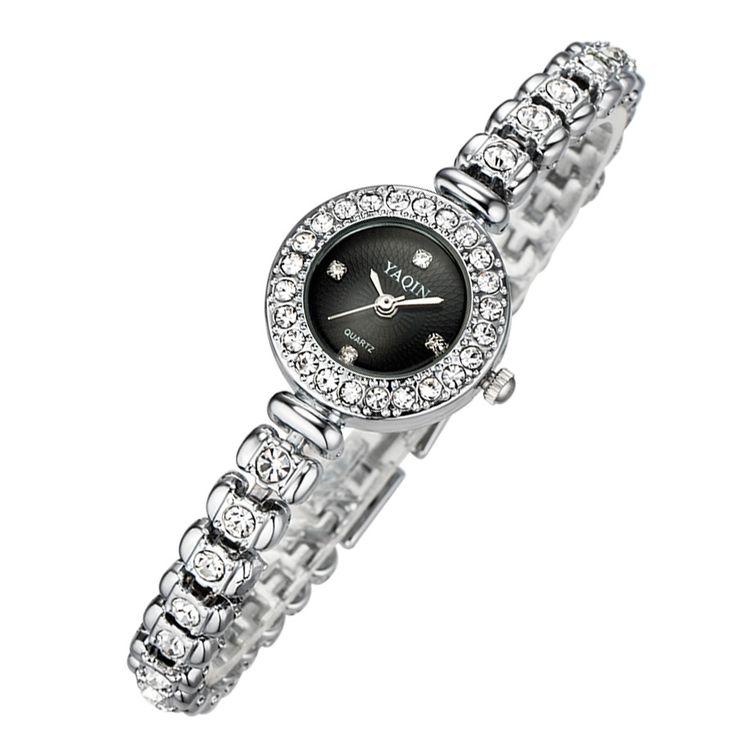 $8.06 (Buy here: https://alitems.com/g/1e8d114494ebda23ff8b16525dc3e8/?i=5&ulp=https%3A%2F%2Fwww.aliexpress.com%2Fitem%2F2017-new-luxury-fashion-brand-quartz-watch-diamond-gold-silver-YAQIN-business-casual-ladies-watches-relogio%2F32680967176.html ) 2017 new luxury fashion brand quartz watch diamond gold silver YAQIN business casual ladies watches relogio feminino7054 for just $8.06
