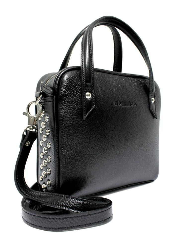 Leather bag with studs  http://goshicoid.com/
