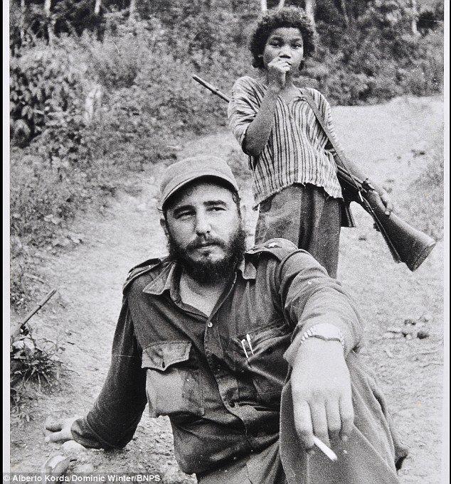 Vintage Photo of Fidel Castro
