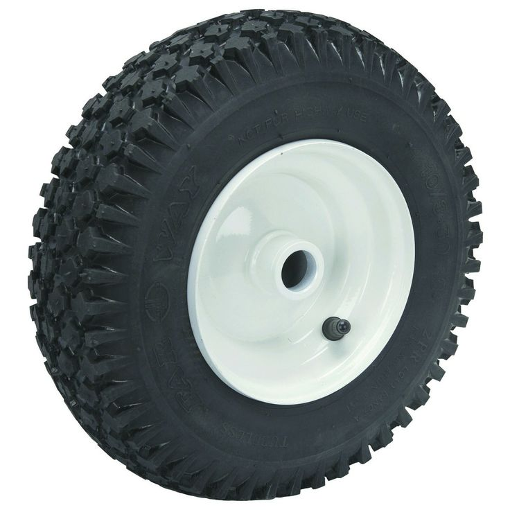 13 in. Replacement Dolly Wheel and Tire Wheels and Trailers