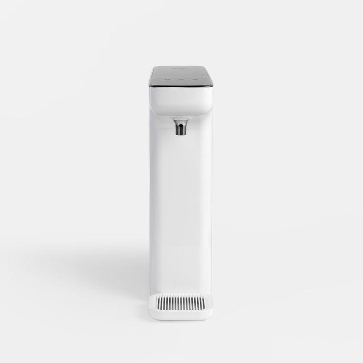 Slim sculpture water purifier on Behance