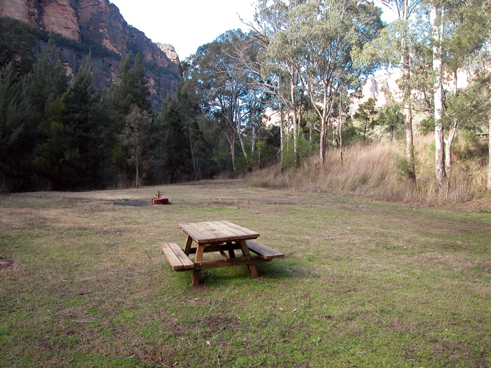 Coorongooba camping area, Wollemi National Park