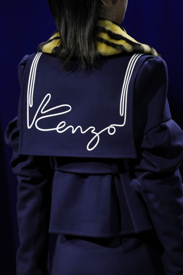 Kenzo Fall 2016 Ready-to-Wear Fashion Show Details