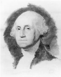 George Washington was born at Pope's Creek in 1732.