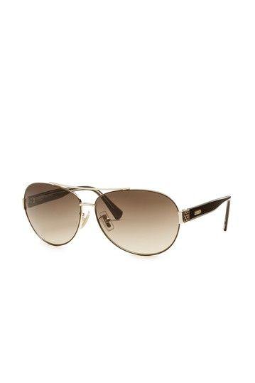 b2f39d0fb245 Coach Butterfly Aviator Sunglasses