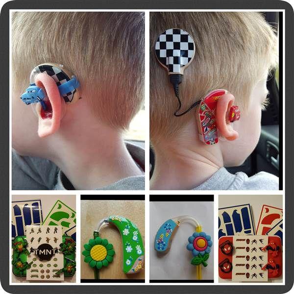 Une maman a trouvé le moyen d'aider les enfants qui ont des prothèses auditives à mieux accepter cet handicap ! Découvrez le concept génial qu'elle a inventé !