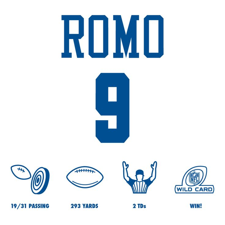 Have a day, Tony Romo! @nflofficial