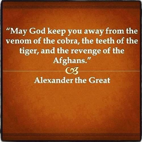 Image result for alexander the great afghanistan quote