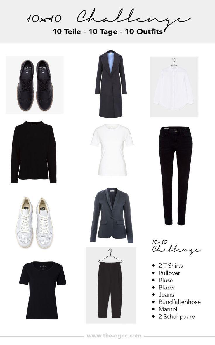 Minimalismus – 10×10 Challenge – Minimalismus im Kleiderschrank