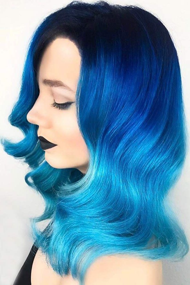 41 Ethereal Looks With Blue Hair Hair Color Blue Hair Color