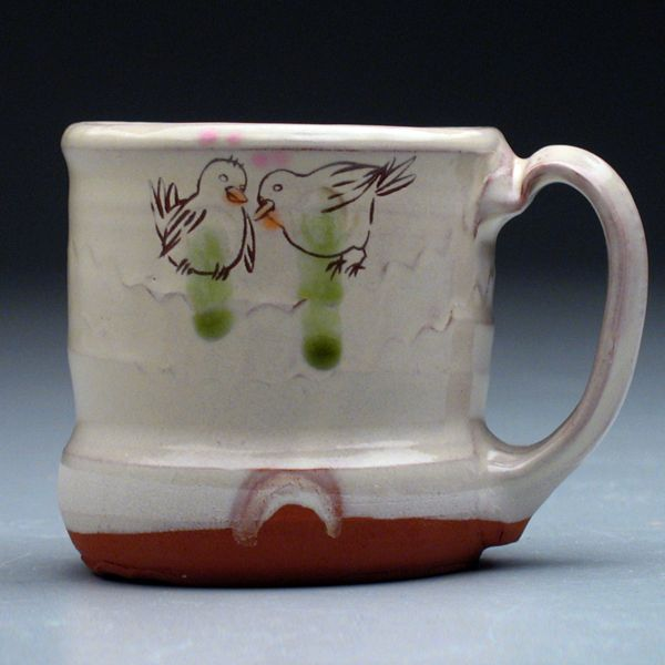 caneca: Mug, Galleries, Exhibitions, Etched Birds, Birds Color, Cups Auction