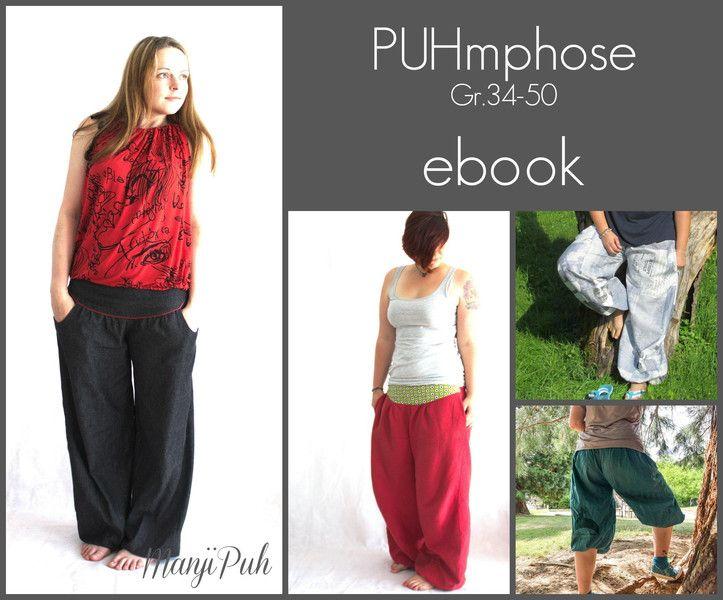 "Ebook+""PUHmphose""+Gr.+34-50+von+ManjiPuh+auf+DaWanda.com"