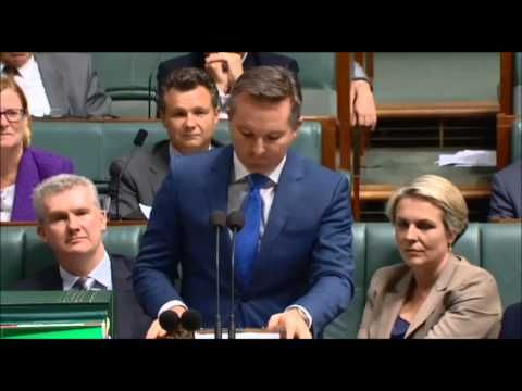 In Question Time, Abbott denies his own words