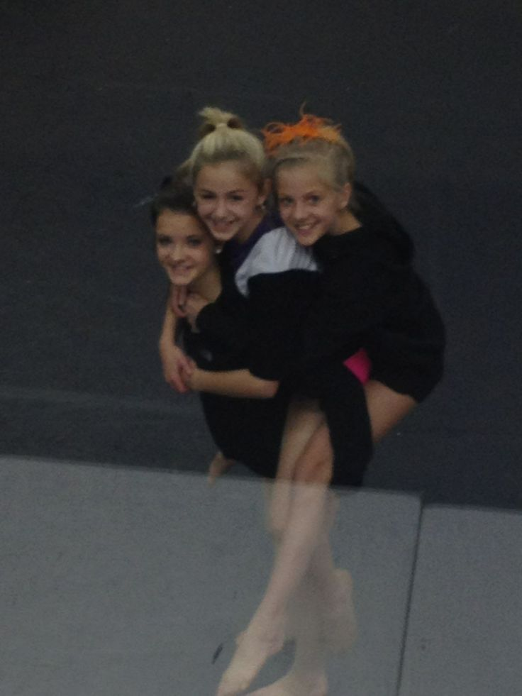 Dance Moms Hyland sandwich. Paige, Chloe, and Brooke