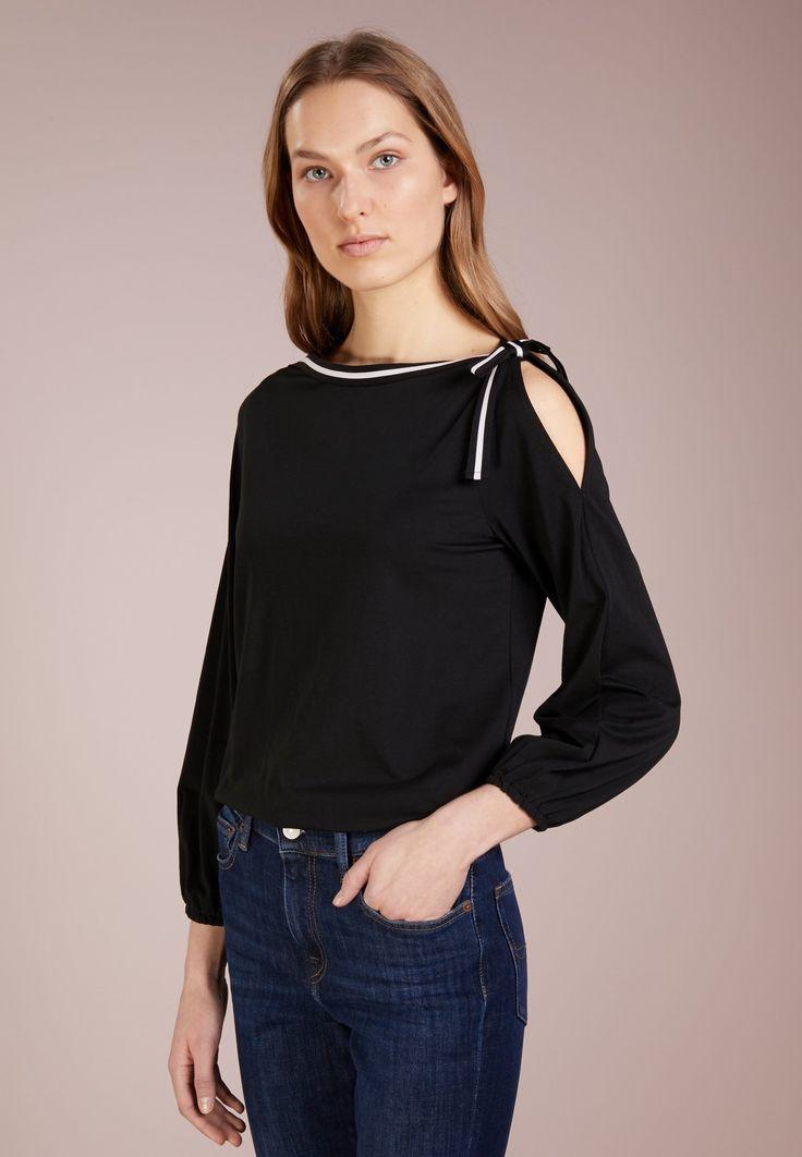 Lauren Ralph Lauren LIQUID - Camiseta manga larga - black - Zalando.es