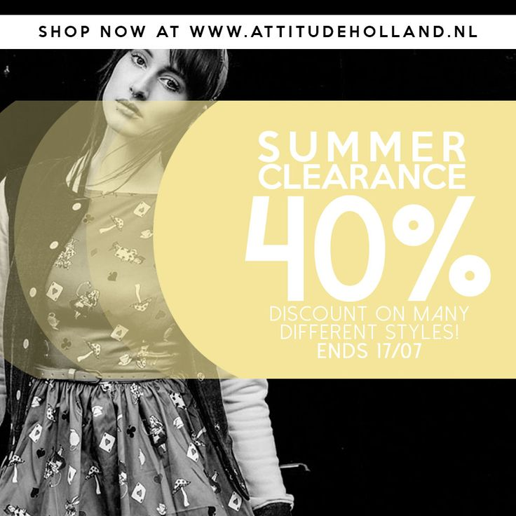 Summer sale is on!