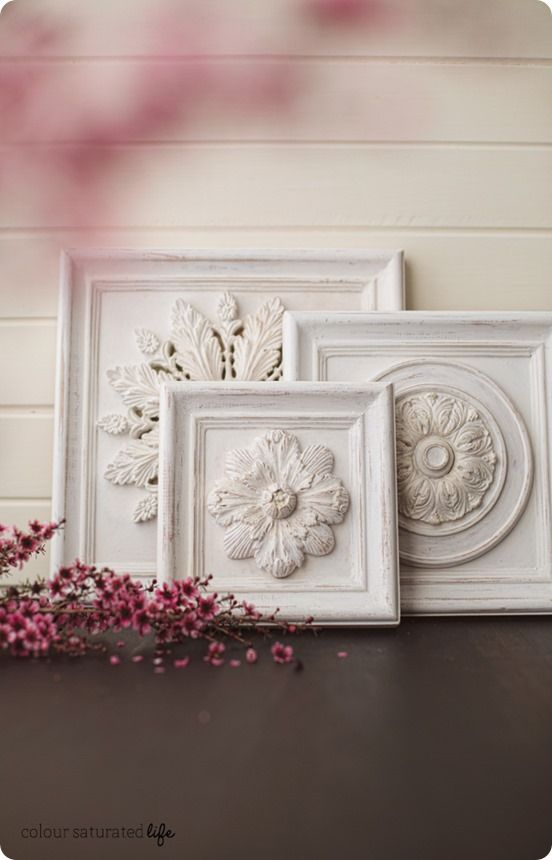 DIY Wall Decor | How to Make Distressed Wood Wall Carvings inspired by Restoration Hardware on the CHEAP!