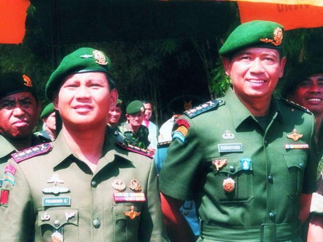 Prabowo Subianto - Susilo Bambang Yudhoyono
