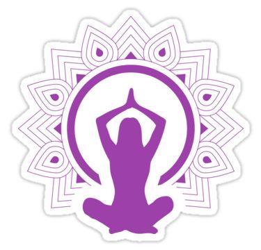 Mandala Yoga by Stock Image Folio