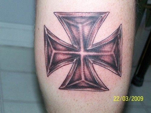 IRON CROSS TATTOO - Google Search