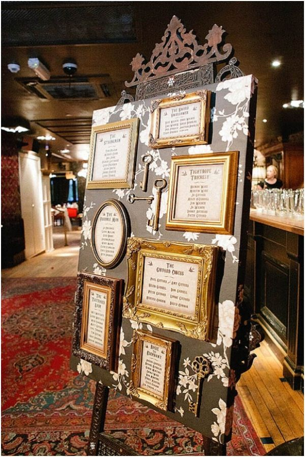 I AM SO INTO THIS IDEA. i love the background of the canvas! the vintage antique frames, the keys! EVERYTHING about this is something id love to have at the BAC
