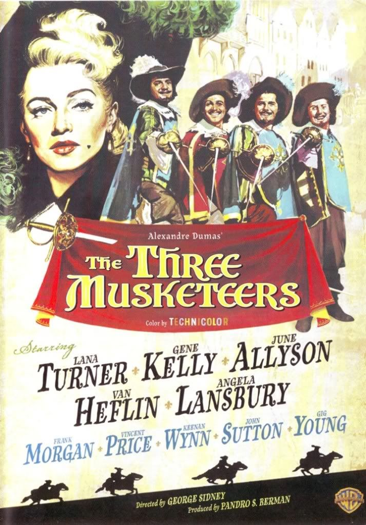 the three musketeers gene kelly - Google Search