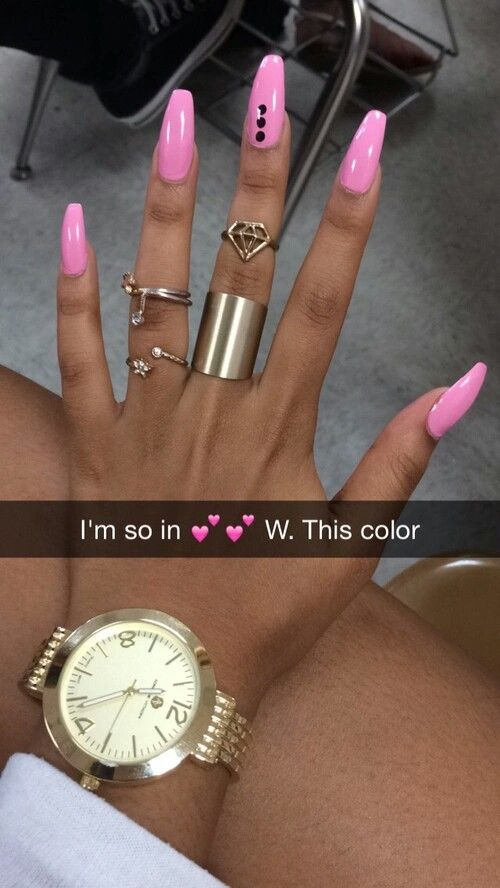 Why is her watch backwards, nails look nice though