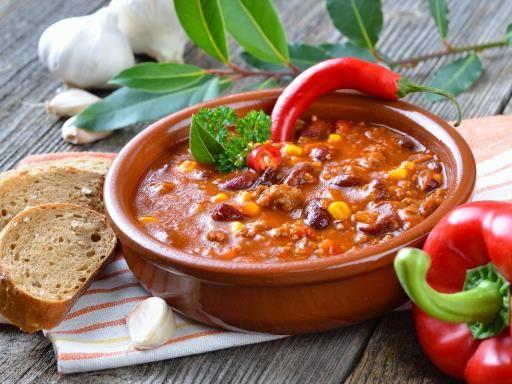 Chili con carne aux légumes d'aucy