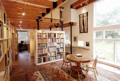 The 429 best images about cool libraries bookshops for Cool home libraries