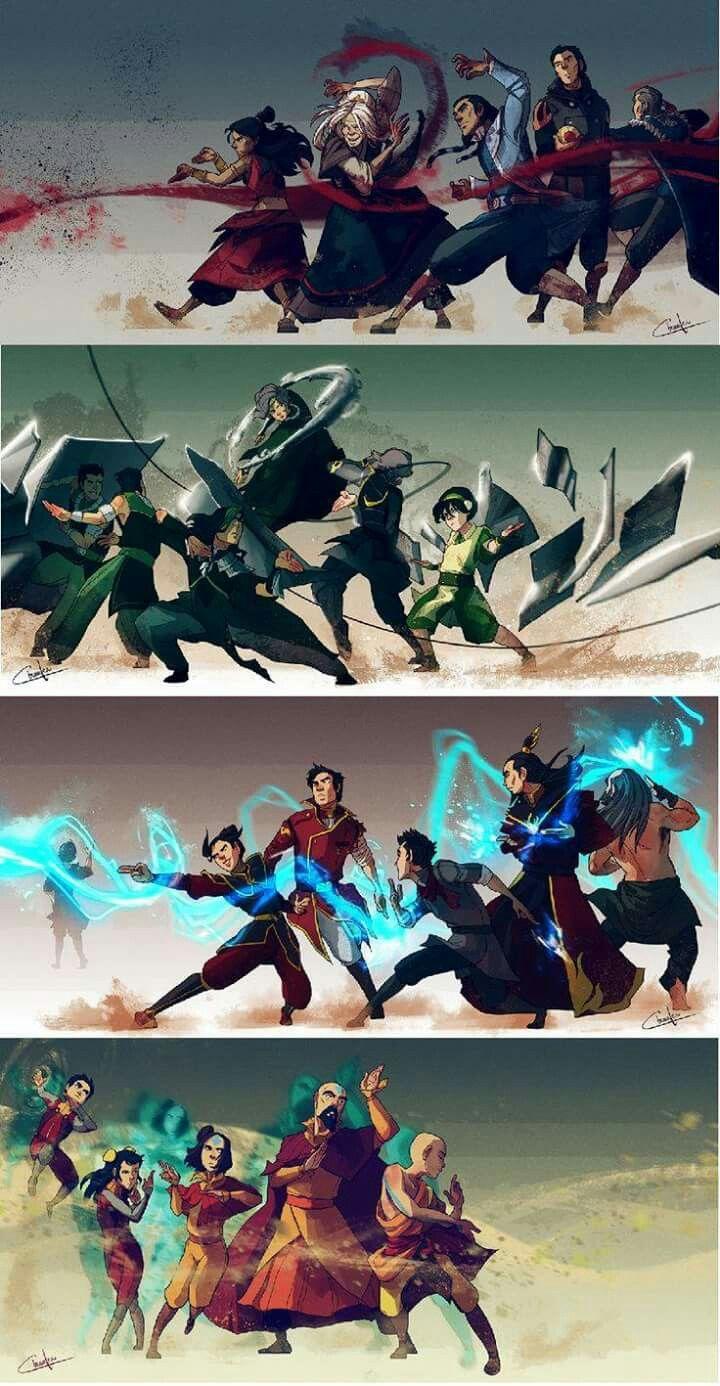 Pin de kerenhapuk en Anime etc,... Avatar la leyenda de