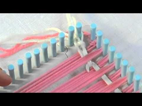 Martha Stewart Crafts Loom Weaving the Weft