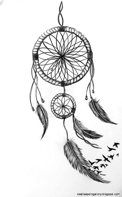 Dreamcatcher sketch   I Dream catchers
