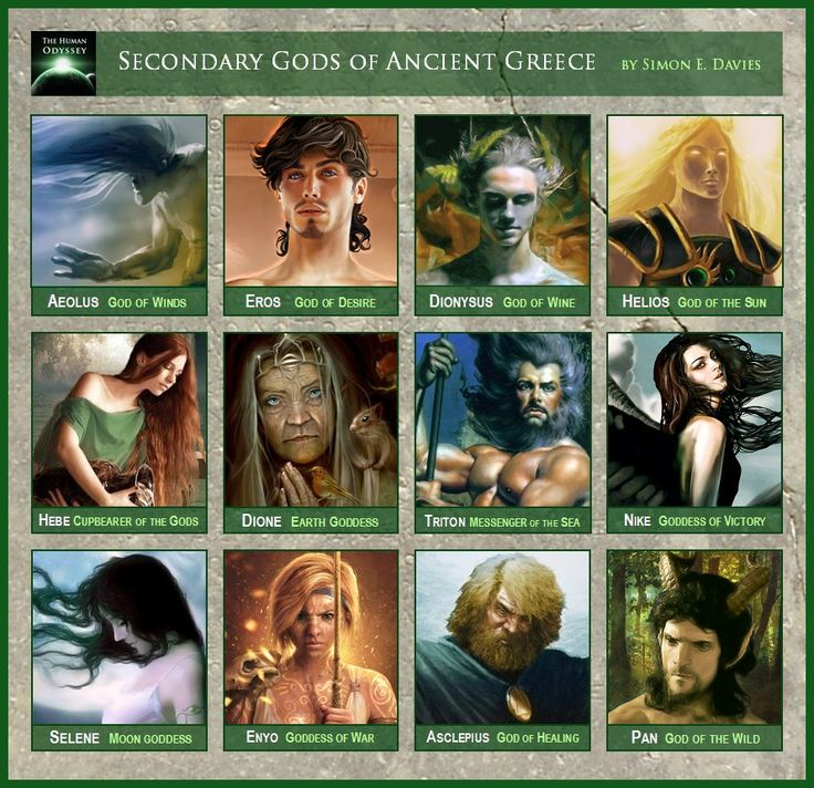 the gods myths and legends of greece The origins of greek mythology with the homeric religion, further developments until the orthodox church in greece the gods had supernatural powers.