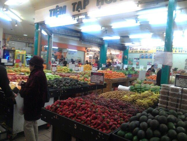 Melbourne Footscray market