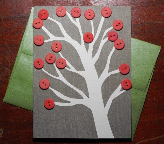 $4.00 Fall greeting card.