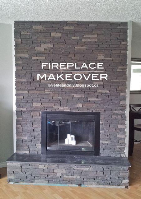 LoveLife&DIY: Fireplace Makeover