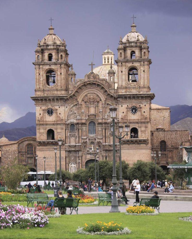 Peru Cusco Plaza
