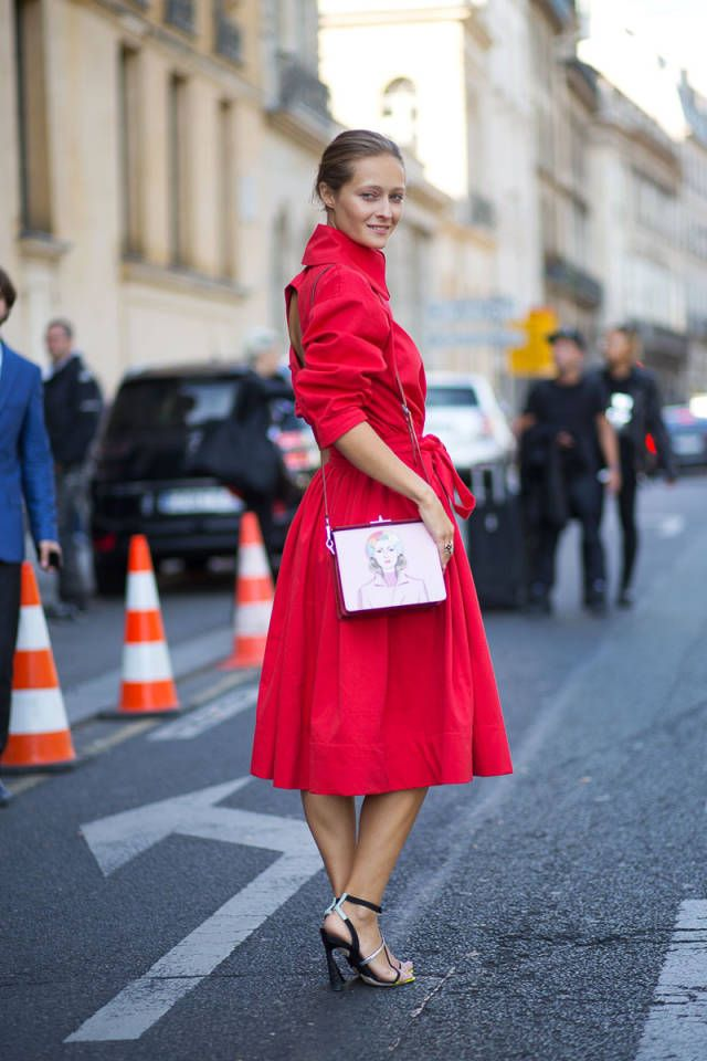 The top 8 street style trends spotted at the Spring 2015 collections.