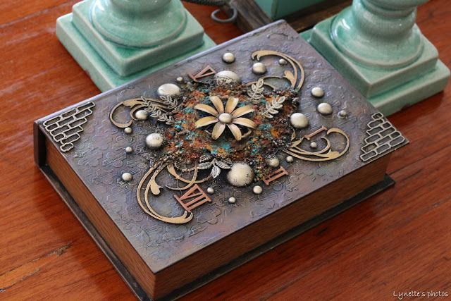 My Life...Perfectly Imperfect: Altered Book Box - Finnabair