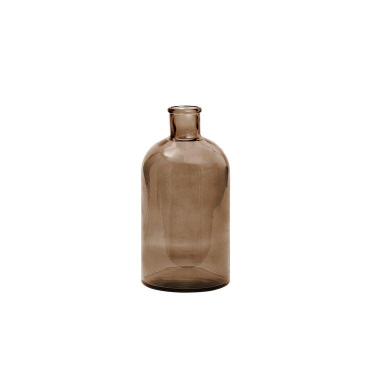 Novoform ApS Novoform - Retro Glasvase M, braun Jetzt bestellen unter: https://moebel.ladendirekt.de/dekoration/vasen/tischvasen/?uid=734fa17c-8762-5c0a-919b-49d525d371f9&utm_source=pinterest&utm_medium=pin&utm_campaign=boards #tischvasen #vasen #dekoration